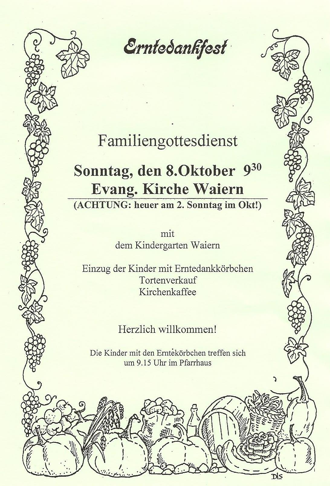 Texte Zum Erntedankfest