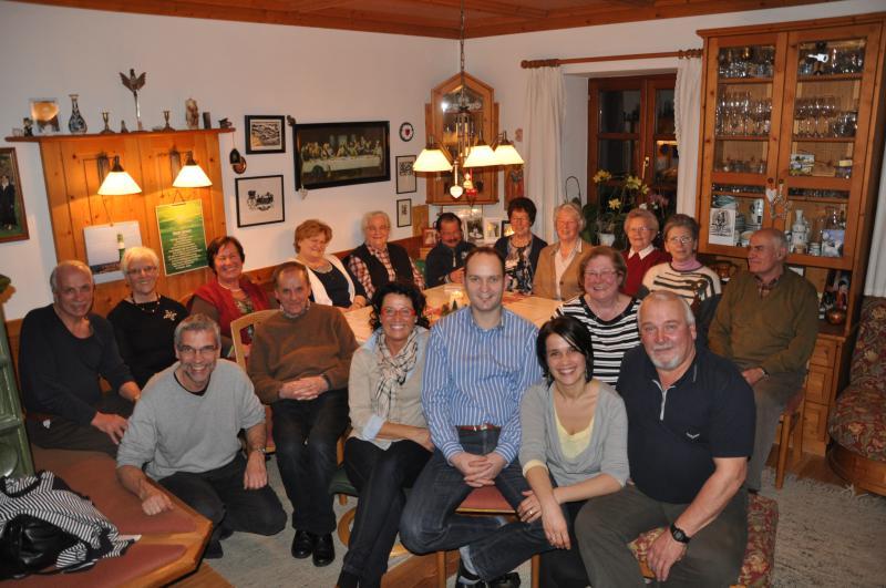 Hausbibelabend bei Familie Ritscher